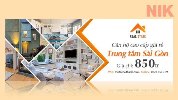 Banner bất động sản