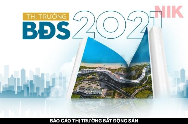 Báo cáo thị trường bất động sản 2021 có sự tăng trưởng trở lại