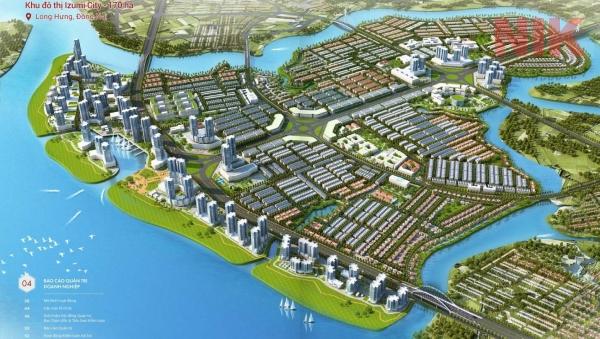 Dự án Izumi City Nam Long ở Biên Hòa