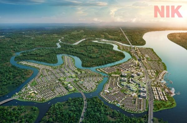 Dự án Aqua City tọa lạc tại bất động sản Biên Hòa