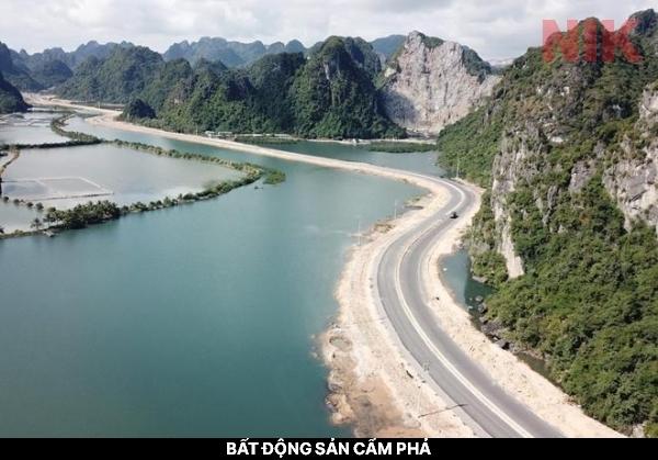 Tuyến đường bao biển nối liền Hạ Long và bất động sản Cẩm Phả